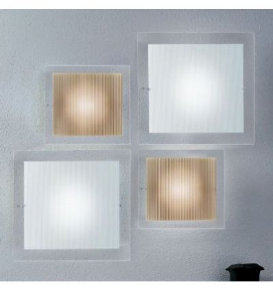 Applique a led design da parete moderna per interni for Quadri minimal