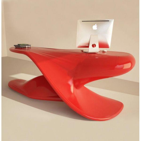 Scrivania Archer Per Ufficio Studio Design Monolitica In