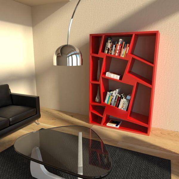 Libreria SCAFFALATURA da parete moderna Christie  Librerie e SCAFFALI soggiorno  eBay