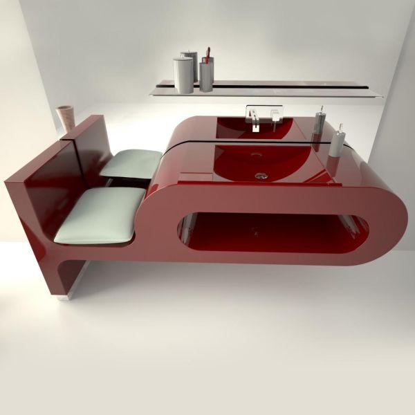 Lavabo bagno sospeso arredo bagni per hotel forniture alberghiere Pitagora