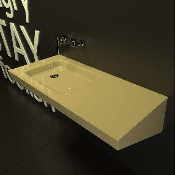 Lavabo bagno sospeso bagni moderni per hotel locali pubblici forniture alberghi Scardola