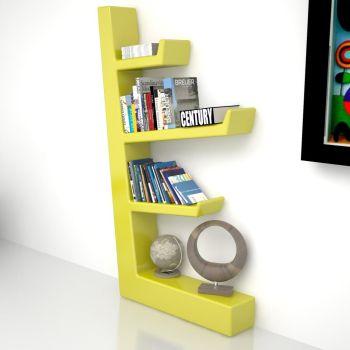 Libreria da terra con mensole scaffale scaffalatura librerie design Comb