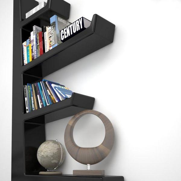 Libreria con MENSOLE a muro DESIGN scaffale AUSTEN Librerie moderne ...