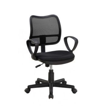 Air sedia per ufficio operativa regolabile su ruote