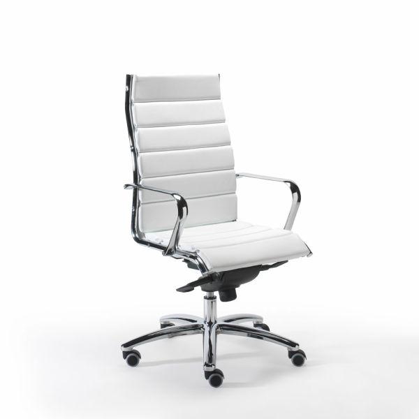 Sedie Per Pc Prezzi.Sedia Ufficio Presidenziale In Ecopelle O Pelle Matrix