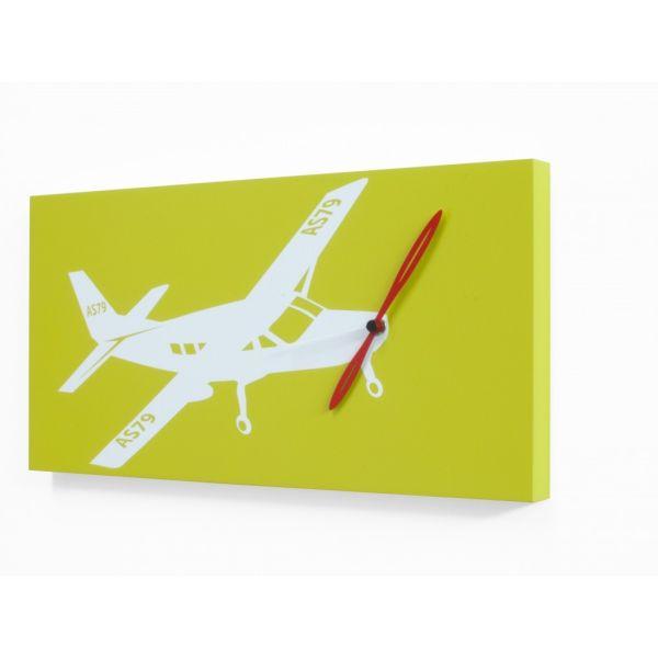 Orologio quadro da parete Flyer Cessna