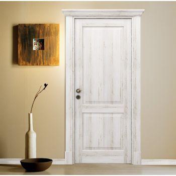 Porta rustica in legno Bianco Antico