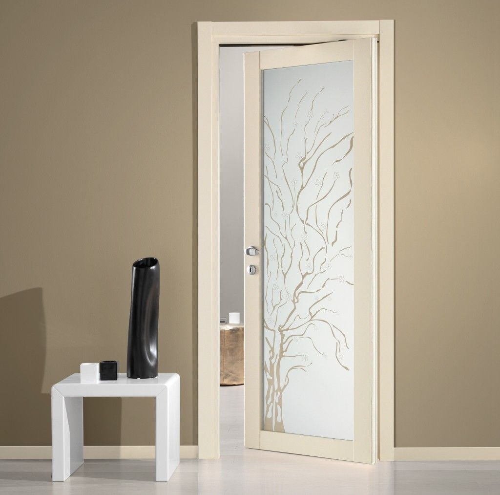 Tende da interni a vetro tende a pannello su vetro with - Porte interne design moderno ...