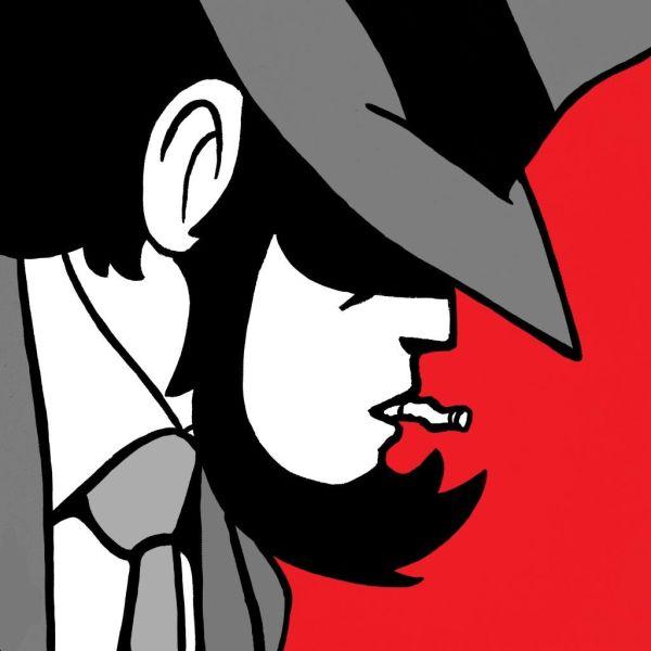 Quadri Lupin | Quadro Jigen su tela dipinto a mano