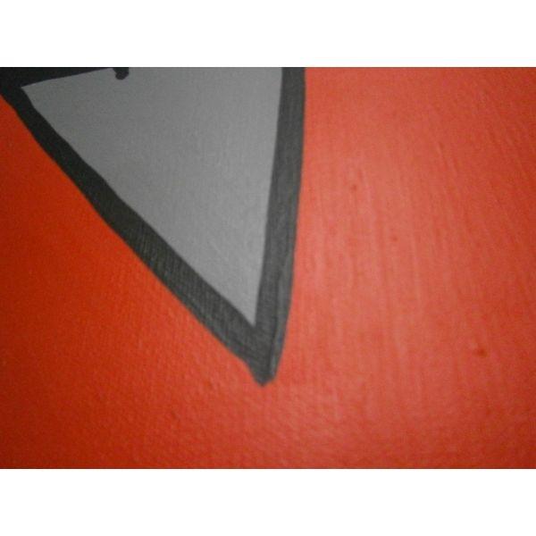 Quadro jigen su tela dipinto a mano serie lupin quadri for Arredamenti lupin