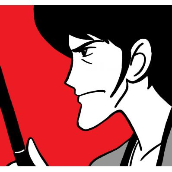 Quadro Goemon dipinto a mano | Quadri Lupin