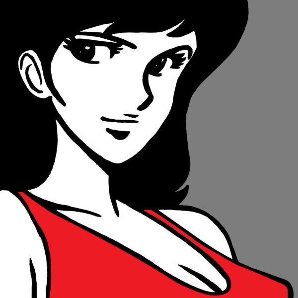 Quadro Margot | Quadri Lupin su tela classica dipinti a mano
