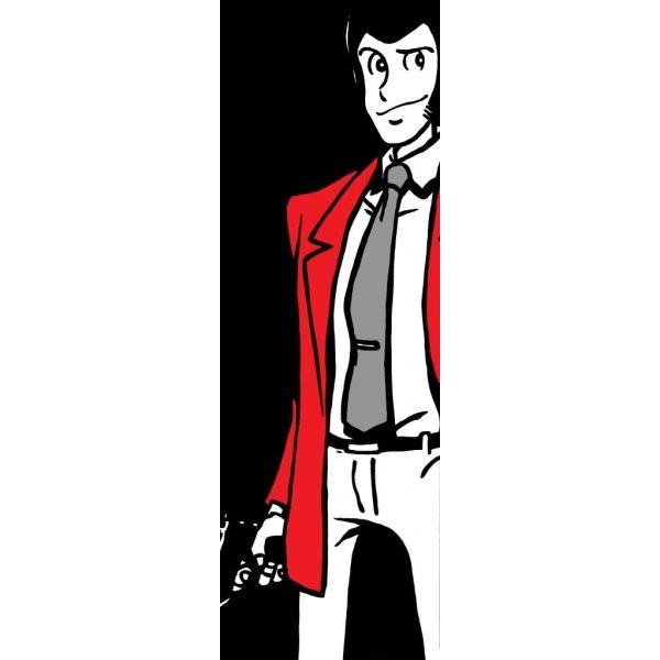 Quadro verticale su tela 30x90 o 50x150 cm Lupin