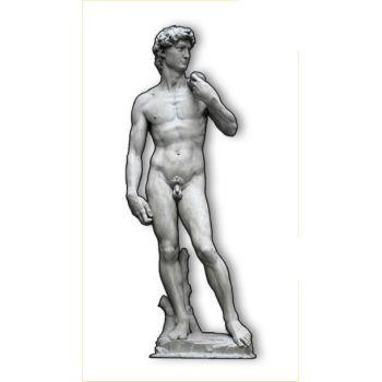 David di Michelangelo sagoma su pannello legno MDF 180 cm