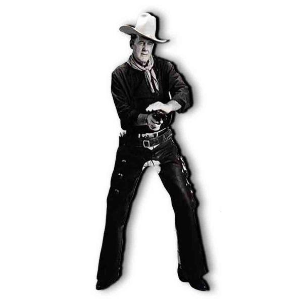 John Wayne quadro sagomato per arredo soggiorno 180 cm