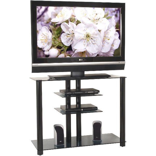 Mobile porta televisore in vetro 2023 larghezza 100 cm portata 50 Kg
