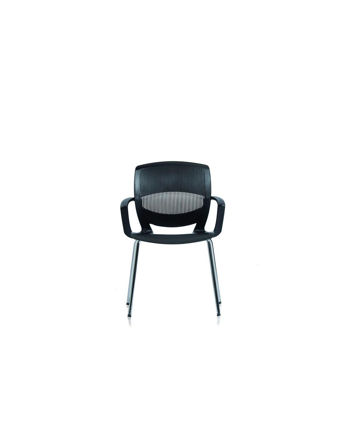 Coppia sedie sala conferenza arredo ufficio attesa con braccioli Flexy