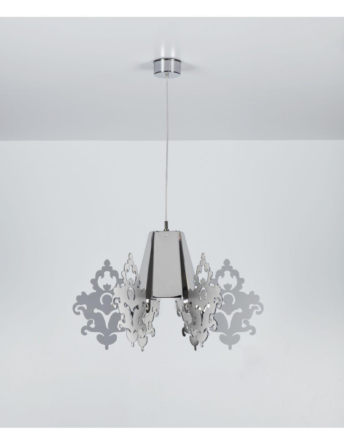 Vovell.com Lampadario Moderno Bianco
