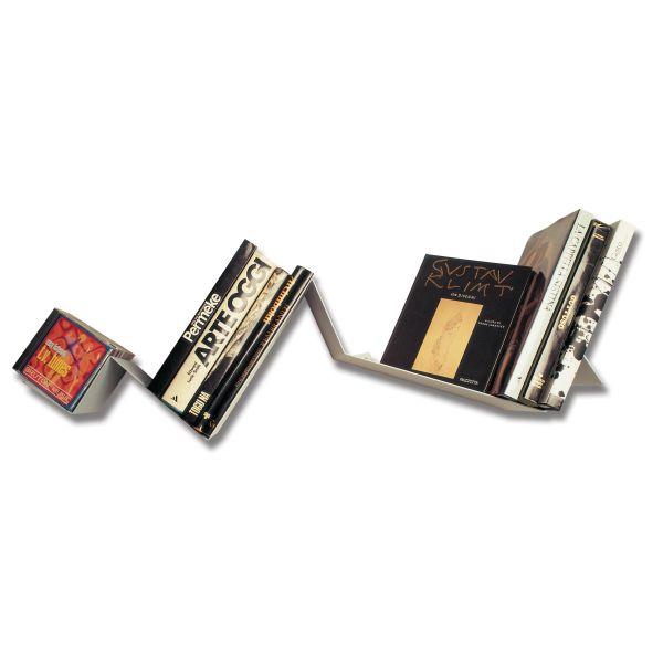Mensola moderna in acciaio verniciato Zig Zag