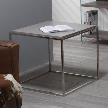 Tavolino da salotto quadrato Lamina in laminato 63 x 63 cm