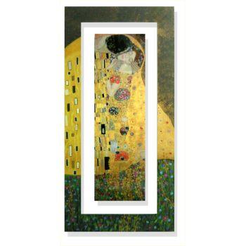 Quadri Klimt | Quadro verticale Klimt Il bacio