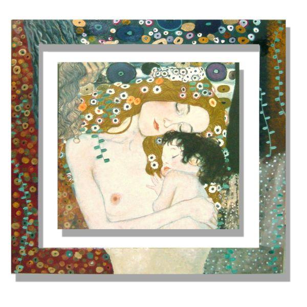 Quadri Klimt | Quadro cornice dipinta Klimt 3 Eta'