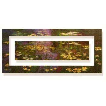 Quadri Monet | Quadro moderno Monet gigli d'acqua