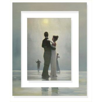 Quadro cornice dipinta a mano Vettriano Dance me to the end of life