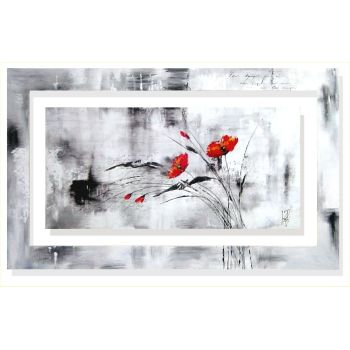 Quadro moderno Isabelle Zacher-Finet Reve fleurie VI