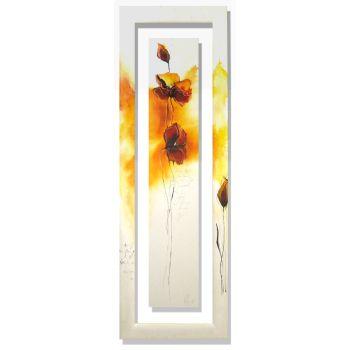 Quadro Isabelle Zacher-Finet Fleurs d'automne III