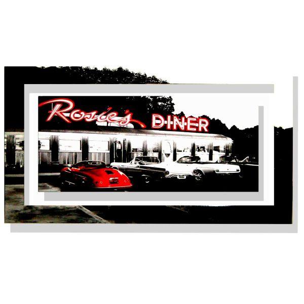 Quadro Gniewek Rosie's Diner | Quadri pop art