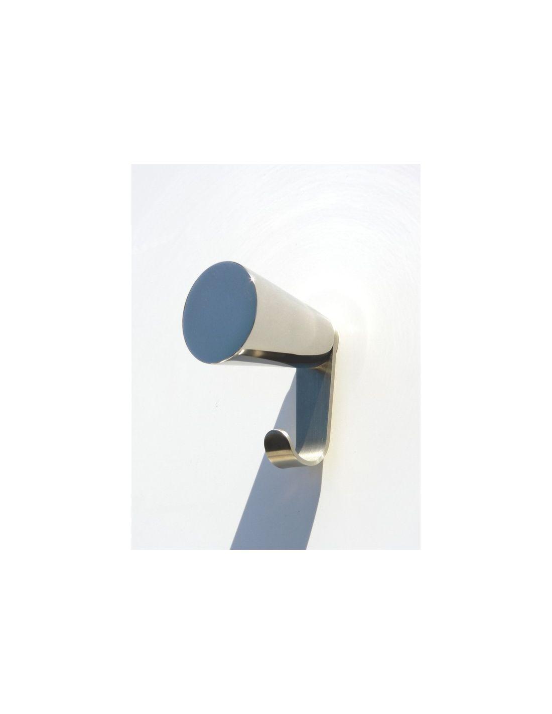 Attaccapanni a muro con gancio in acciaio cone - Attaccapanni a muro design ...