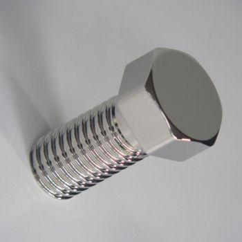 Appendiabiti Bolt in alluminio a forma di vite bullone