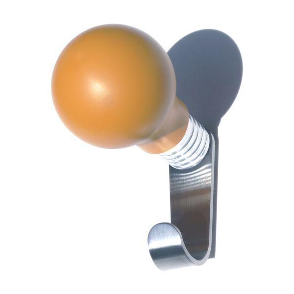 Attaccapanni a muro a forma di bulbo lampadina Eureka+