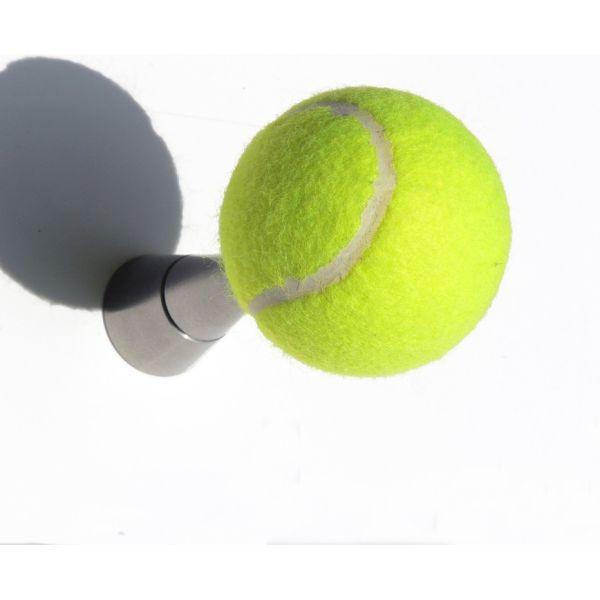 Attaccapanni Tennis da parete in alluminio