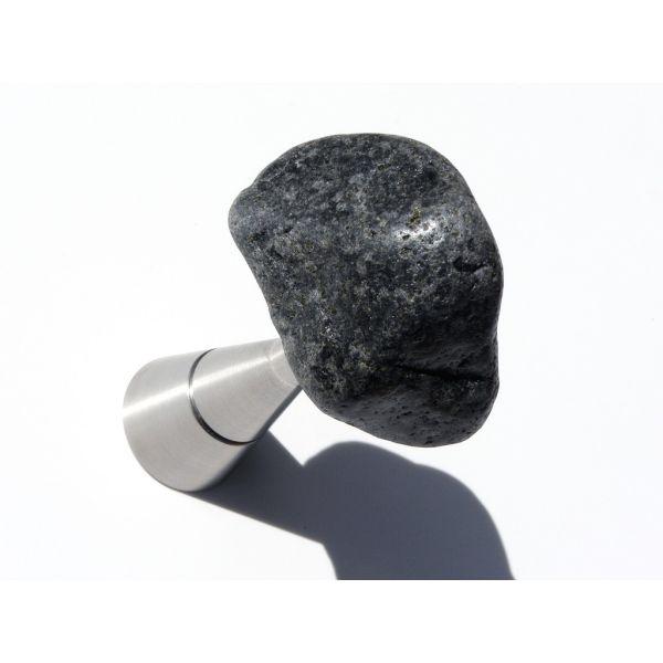 Attaccapanni da parete rocce naturali Asfalto