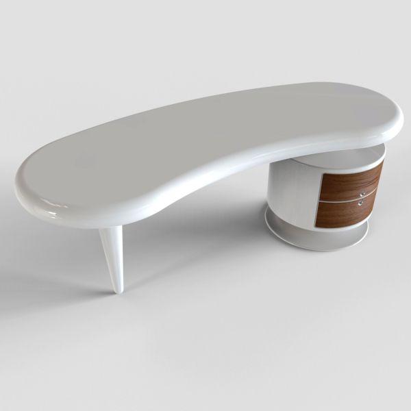 Scrivania per ufficio design moderno Bean