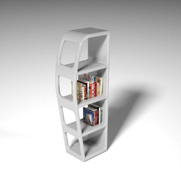 Libreria a colonna da terra design B-side