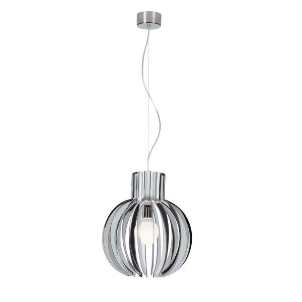 Lampada sospesa design moderno in plexiglass Papalla