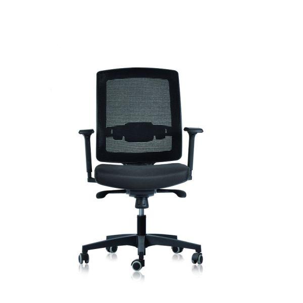 Poltrona ufficio direzionale con schienale basso regolabile UP80