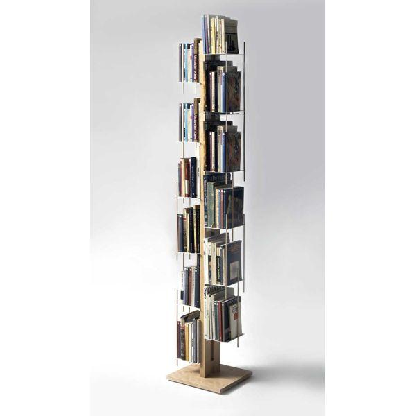 Libreria a colonna da terra in legno massello Zia Veronica