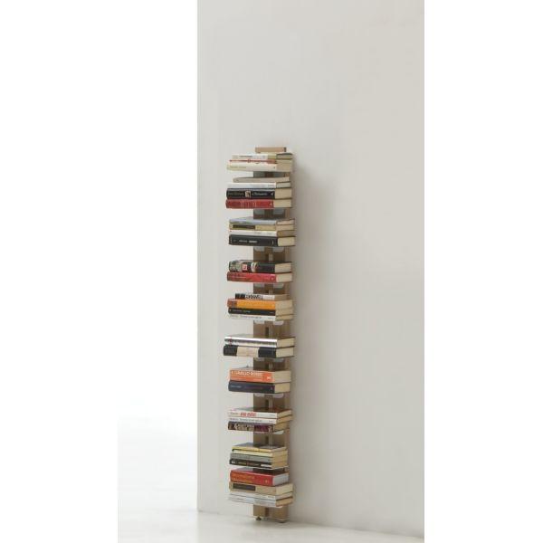 Libreria da muro design moderno in legno Zia Ortensia