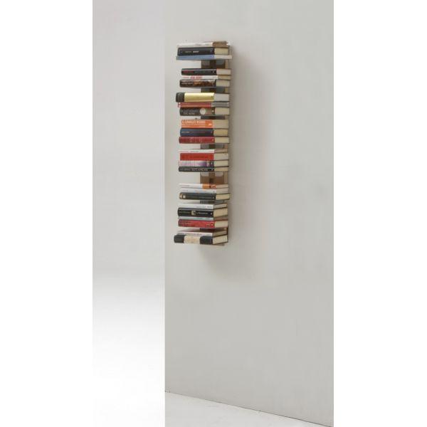 Libreria sospesa a muro in legno massello 66 | 112 cm Zia Ortensia