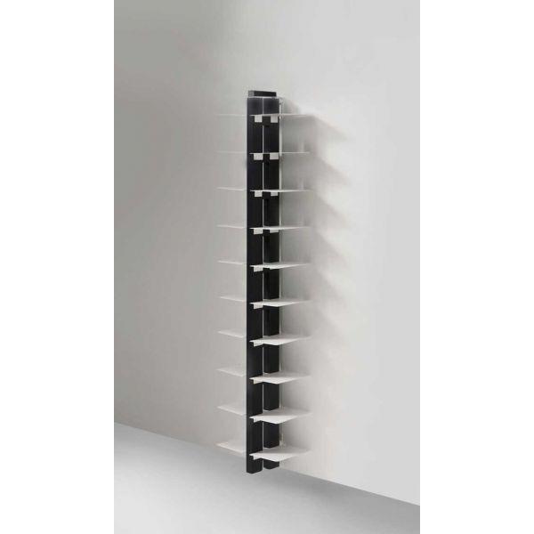 Libreria da muro sospesa in legno ziabice scaffale per - Libreria a parete sospesa ...
