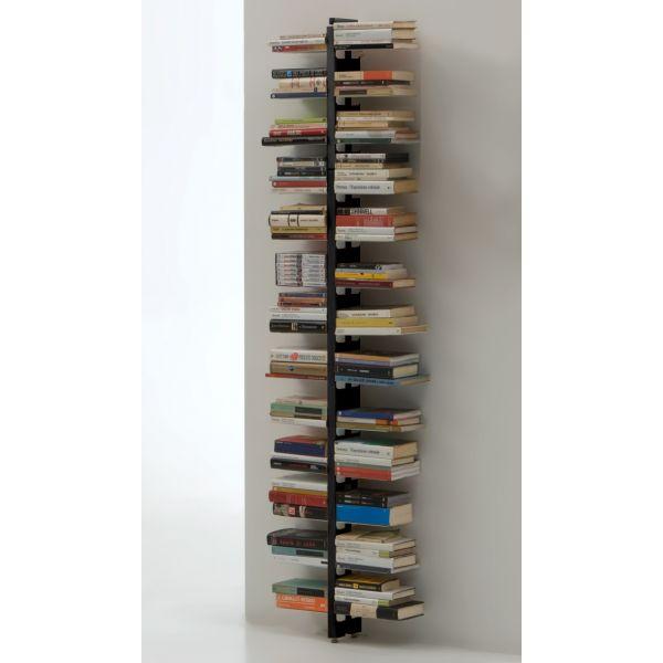 Libreria da muro sospesa in legno ziabice scaffale per for Libreria a muro sospesa