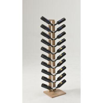 Portabottiglie Zia Gaia Mono in legno massello 8 | 14 | 20 bottiglie