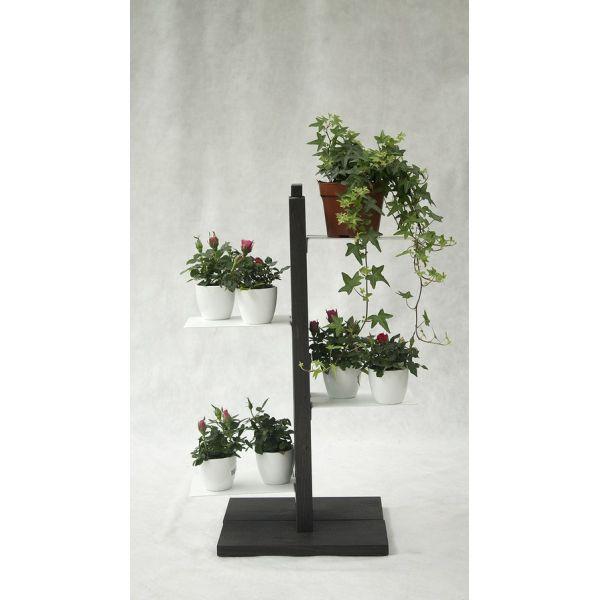 Portavasi verticale zia flora porta piante da interno da for Portavasi in legno