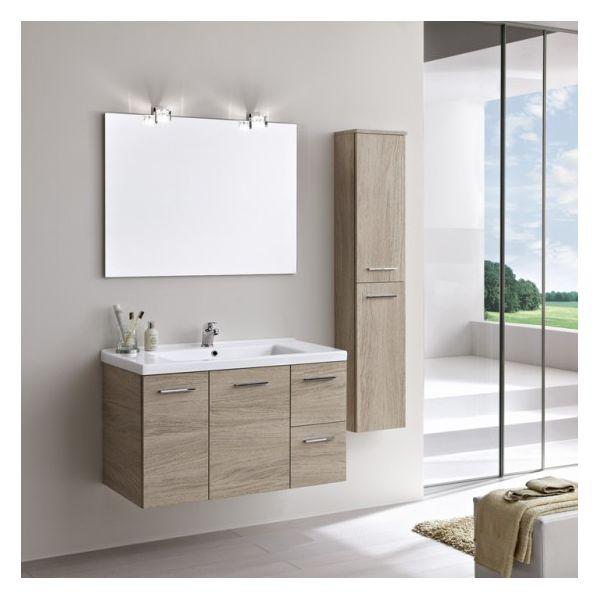 Composizione per arredo bagno design moderno Gio1