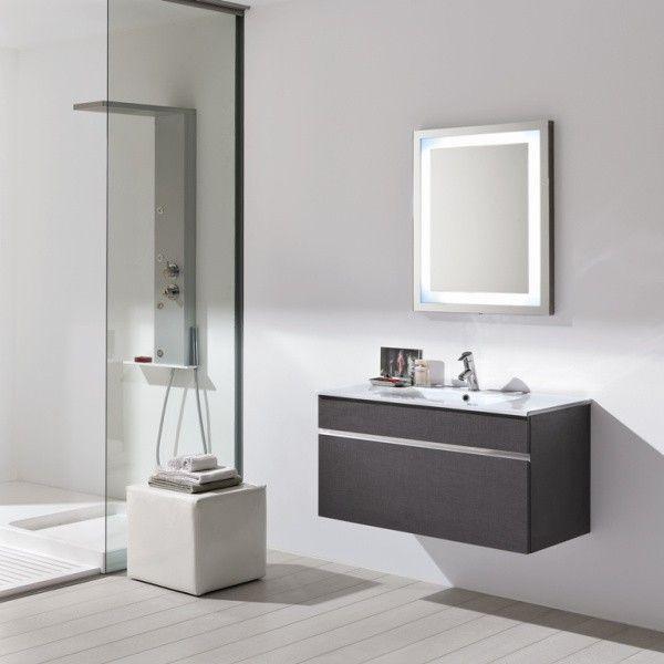 Arredo bagno design base + specchio Gio2