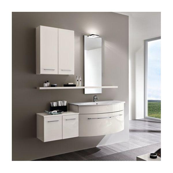Gio4 arredo bagno completo base specchio cassettoni for Arredo bagno completo